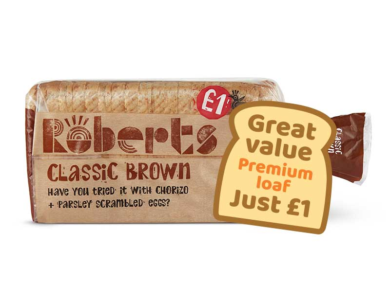 Classic Brown Medium 800g