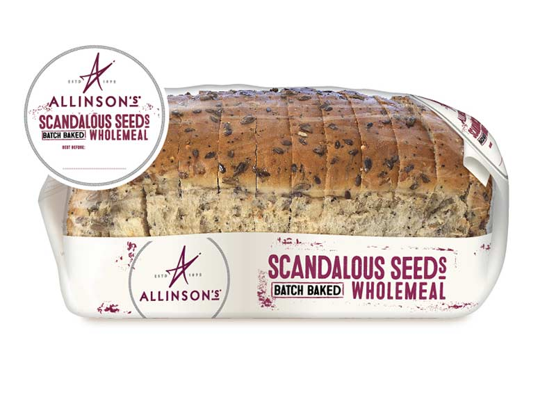Scandalous Seeds Batch Baked Wholemeal