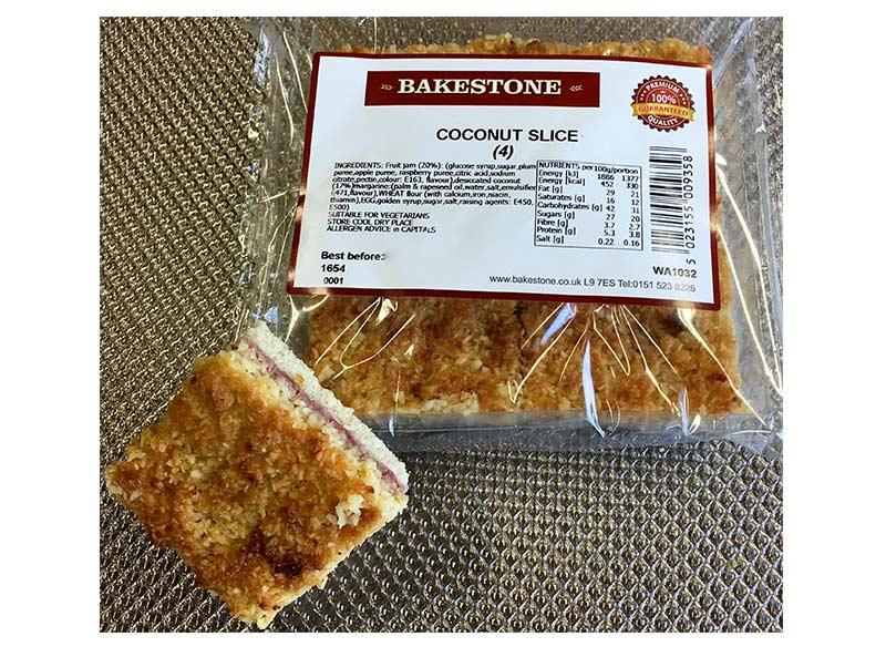 Coconut Slice x 4