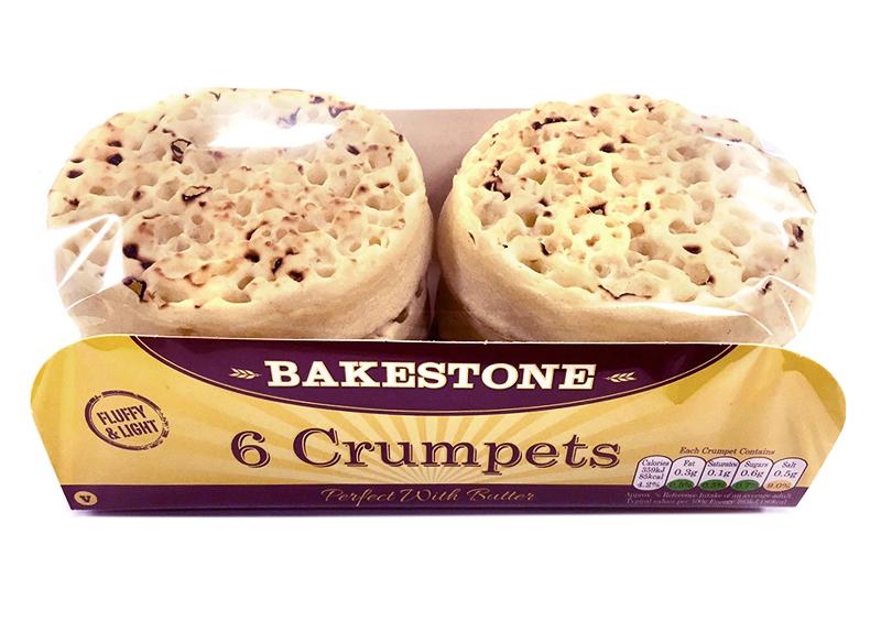 Bakestone Crumpets x 6