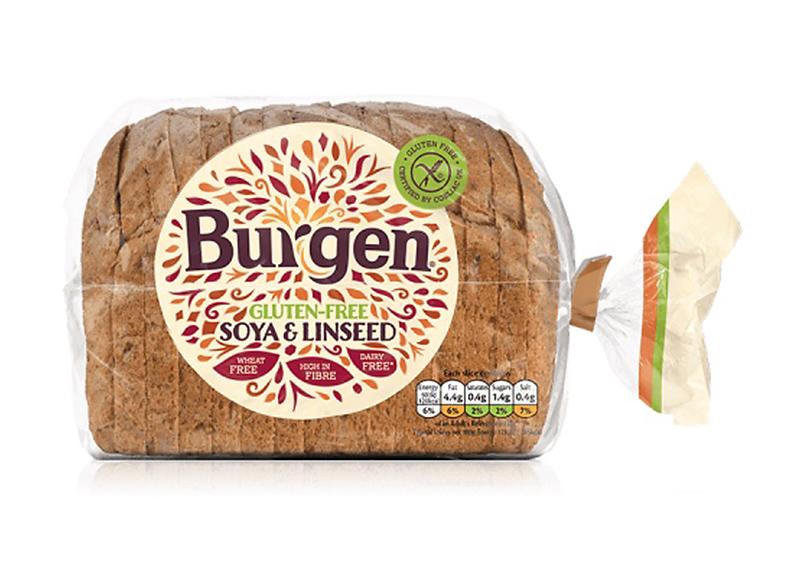Burgen Gluten Free Soya & Linseed 500g