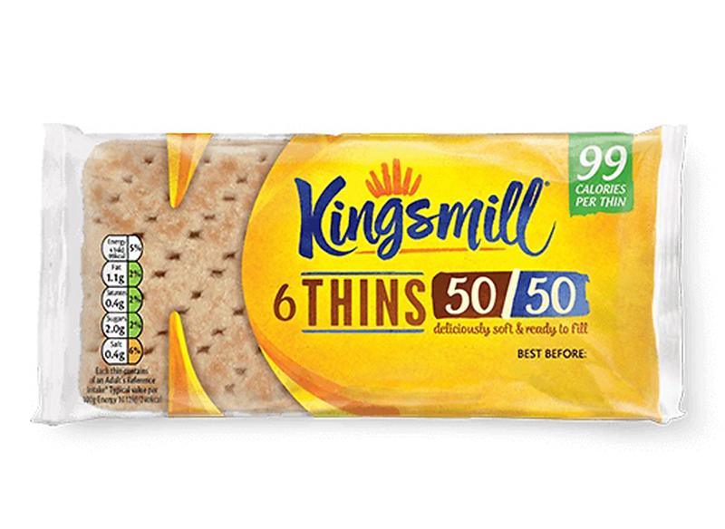 50/50 Thins x 6