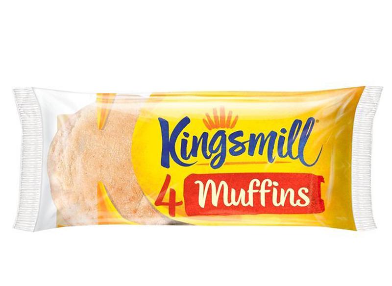 Kingsmill Muffins x 4