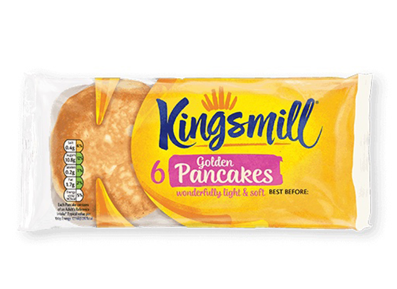 Kingsmill Pancakes x 6