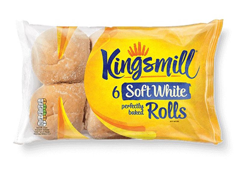 White Rolls x 6