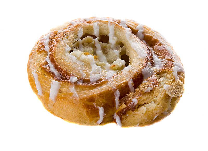 Individually wrapped Danish Pastries