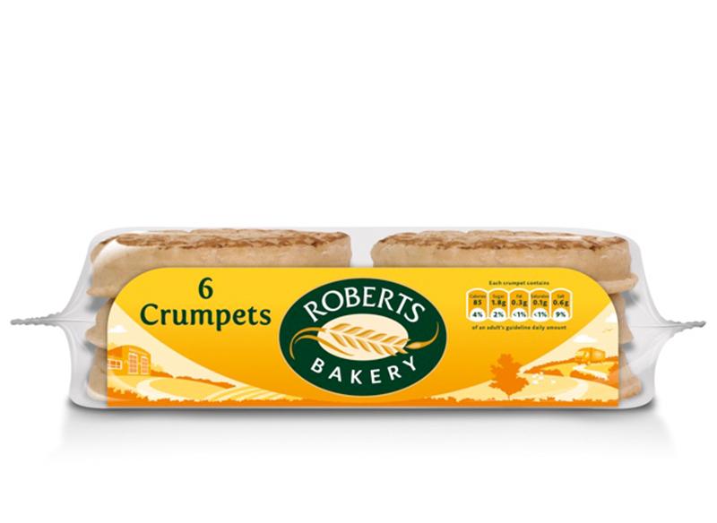 Roberts Crumpets x 6