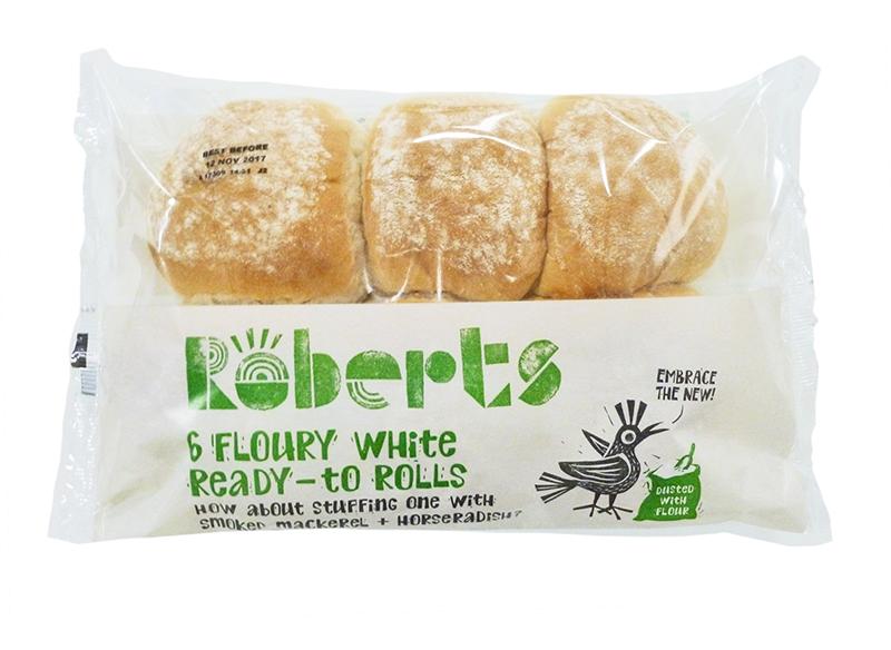 Floury White Ready-to Rolls x 6