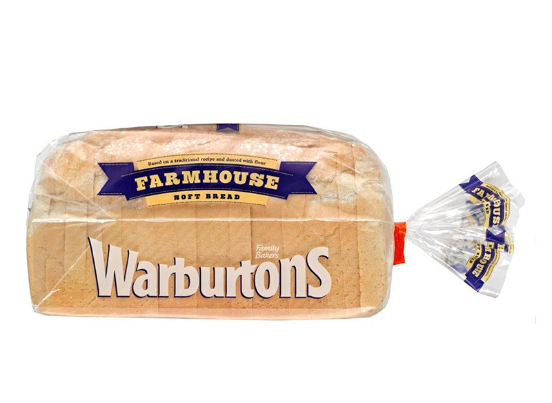 Soft Bread Farmhouse 800g