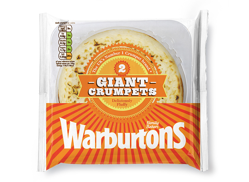 Giant Crumpets x 2