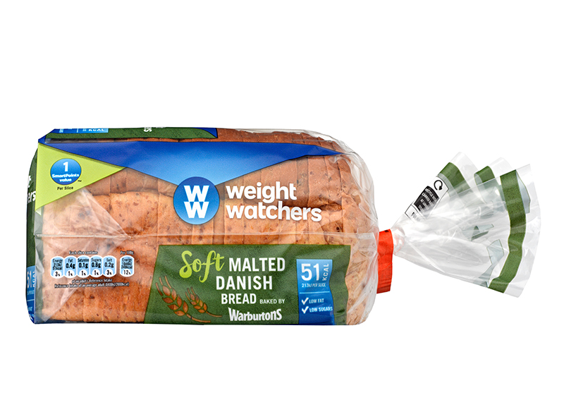 Weight Watchers Malted Danish 400g