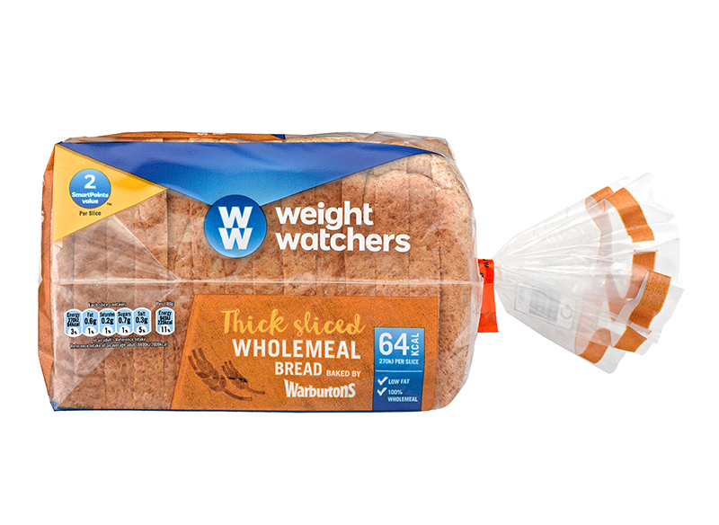 Weight Watchers Thick Wholemeal 400g