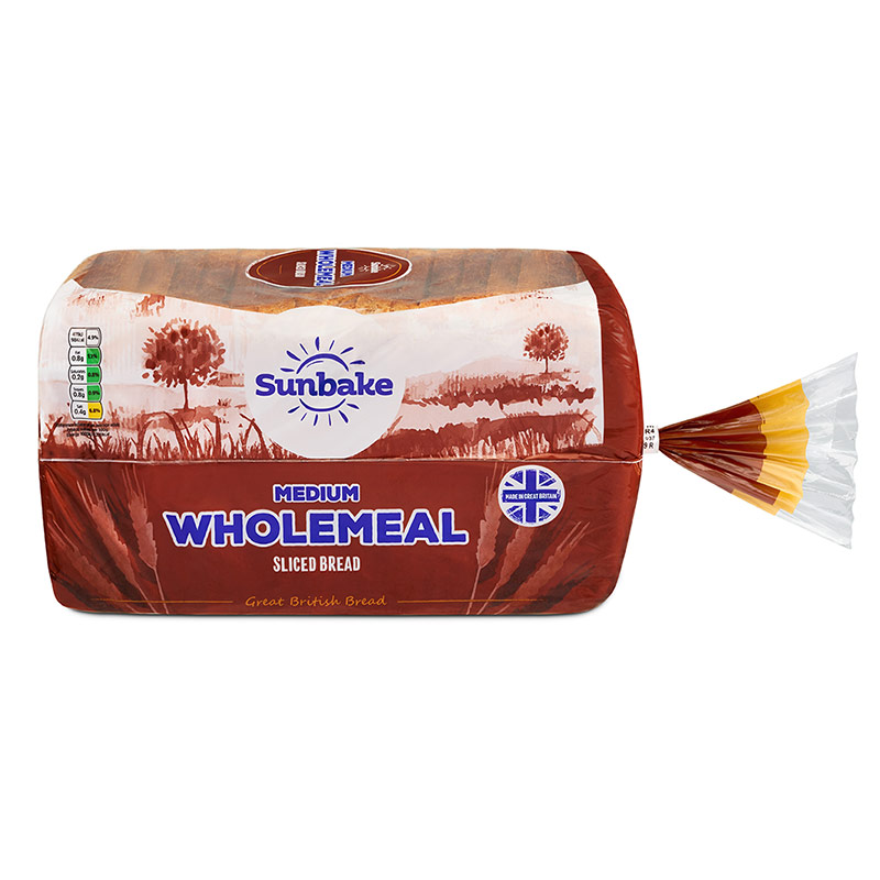 Sunbake Wholemeal Medium