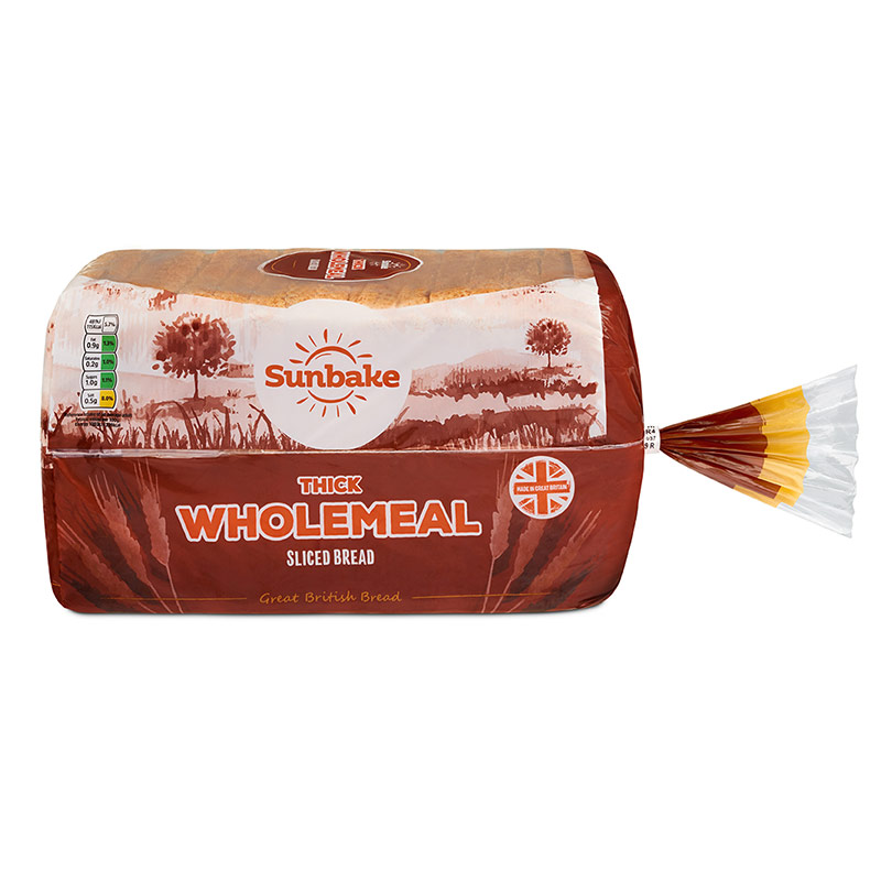 Sunbake Wholemeal Thick