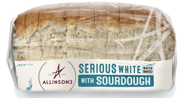 New range of Allinson's White Sourdough Bloomers . Ideal for sandwiches.